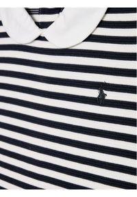 Niebieska sukienka Polo Ralph Lauren casualowa, polo, prosta