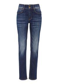 Niebieskie jeansy Cellbes z podwyższonym stanem, casualowe, na co dzień