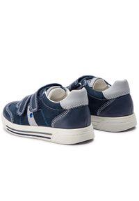 Primigi - Sneakersy PRIMIGI - 3383111 S Navy. Okazja: na spacer, na co dzień. Zapięcie: rzepy. Kolor: niebieski. Materiał: skóra, zamsz. Styl: casual