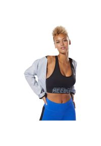 Biustonosz damski Reebok Wor Meet You There Seamless Padded DP6712. Materiał: elastan, poliester, syntetyk, nylon, materiał. Sport: fitness