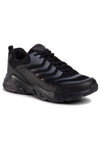 Czarne sneakersy Sprandi na co dzień, z cholewką