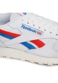 Białe sneakersy Reebok na co dzień, z cholewką