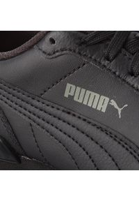 Czarne półbuty Puma casualowe, z cholewką, na co dzień