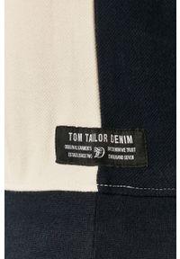Niebieska bluza nierozpinana Tom Tailor casualowa, na co dzień, bez kaptura