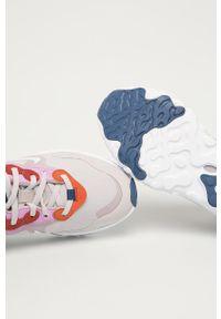 Różowe buty sportowe Nike Sportswear z okrągłym noskiem, na sznurówki, z cholewką