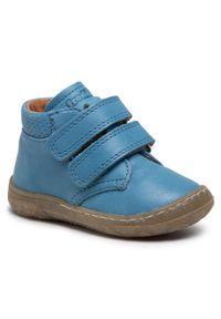 Froddo - Trzewiki FRODDO - G2130227-3 M Jeans. Kolor: niebieski. Materiał: skóra. Sezon: zima, jesień