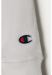 Biała bluza Champion bez kaptura, z aplikacjami