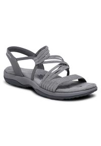 Szare sandały skechers