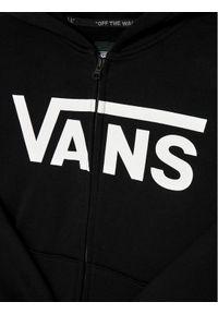 Vans Bluza Classic Zip Hd II VN0A45AE Czarny Regular Fit. Kolor: czarny