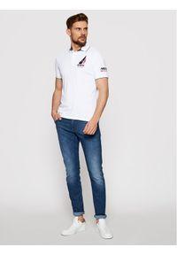 Musto Polo Sardinia 82015 Biały Regular Fit. Typ kołnierza: polo. Kolor: biały #4