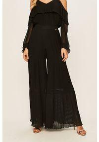 Czarne spodnie materiałowe TwinSet
