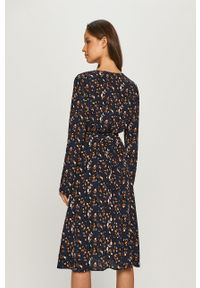 Niebieska sukienka Vila mini, casualowa, rozkloszowana