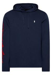 Polo Ralph Lauren Bluza 710839052002 Granatowy Regular Fit. Typ kołnierza: polo. Kolor: niebieski
