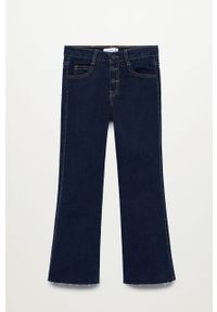 Turkusowe jeansy Mango Kids