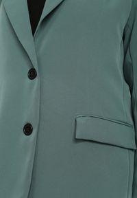 Renee - Zielona Marynarka Alemeina. Okazja: na spotkanie biznesowe. Kolor: zielony. Styl: wizytowy, biznesowy #5