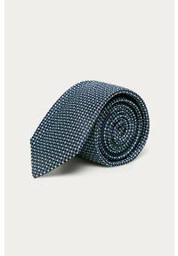 Niebieski krawat Tommy Hilfiger Tailored