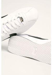 Białe sneakersy Nike z cholewką, na sznurówki
