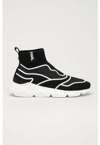 Czarne sneakersy Karl Lagerfeld z cholewką