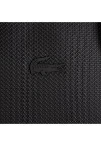 Czarna torba na laptopa Lacoste