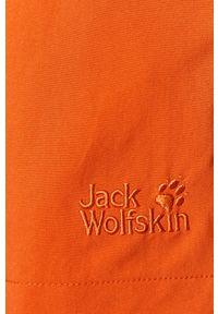 Pomarańczowe kąpielówki Jack Wolfskin