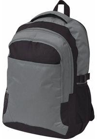 vidaXL Plecak szkolny szary 40 l. Kolor: szary