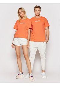 Levi's® T-Shirt A2083-0002 Pomarańczowy Regular Fit. Kolor: pomarańczowy