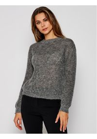 Szary sweter klasyczny iBlues