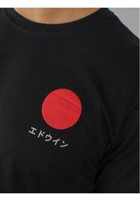 Czarny t-shirt Edwin