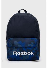 Reebok - Plecak dziecięcy. Kolor: niebieski. Materiał: poliester