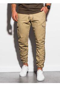 Spodnie Ombre Clothing z aplikacjami