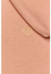 Różowa sukienka Femi Stories prosta, na co dzień