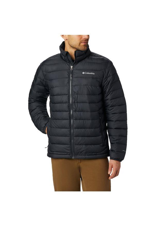 Czarna kurtka turystyczna columbia plus size