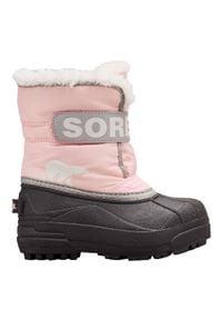 sorel - Sorel Buty Dziecięce Zimowe Commander Cupid. Sezon: zima