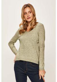 Zielony sweter only na co dzień, casualowy
