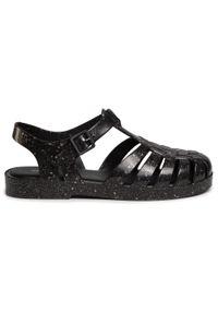 Czarne sandały melissa na co dzień, casualowe