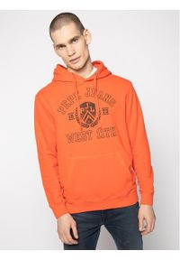 Pepe Jeans Bluza Garrett PM581799 Czerwony Regular Fit. Kolor: czerwony
