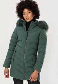 Zielona kurtka zimowa Born2be