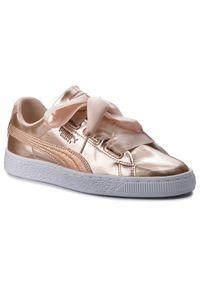Różowe buty sportowe Puma na co dzień, z cholewką