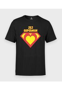 MegaKoszulki - Koszulka męska Jej superman. Materiał: bawełna. Wzór: motyw z bajki