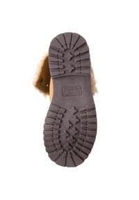Żółte buty trekkingowe KangaRoos z cholewką