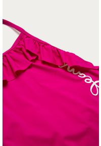 Różowy strój jednoczęściowy Pepe Jeans z nadrukiem