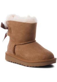 Brązowe śniegowce Ugg z cholewką, na spacer