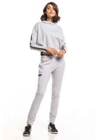Szare spodnie dresowe Tessita