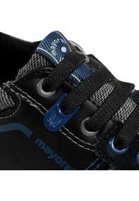 Mayoral - Sneakersy MAYORAL - 46191 Negro 58. Kolor: czarny. Materiał: zamsz
