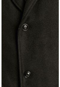 Czarny płaszcz s.Oliver na co dzień, klasyczny, bez kaptura
