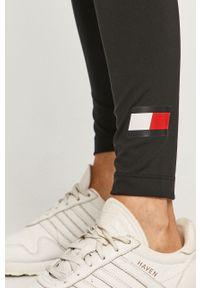 Czarne legginsy Tommy Sport