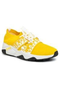 Napapijri - Sneakersy NAPAPIJRI - Leaf NP0A4ET7Y Freesia Yelow A71. Okazja: na co dzień. Kolor: żółty. Materiał: materiał. Szerokość cholewki: normalna. Sezon: lato. Styl: casual