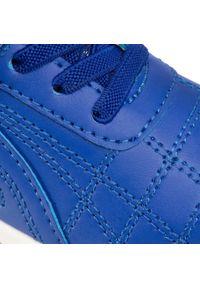Kappa - Sneakersy KAPPA - Furbo K 260776K Blue/Black 6011. Okazja: na co dzień. Zapięcie: rzepy. Kolor: niebieski. Materiał: skóra ekologiczna, materiał. Szerokość cholewki: normalna. Styl: casual