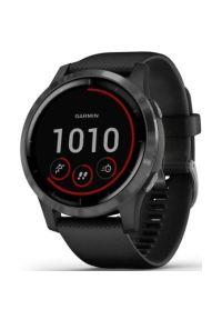 Czarny zegarek GARMIN sportowy, smartwatch