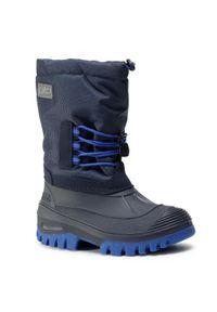Niebieskie buty zimowe CMP